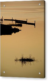 Peaceful Silhouettes Acrylic Print by Stephen St. John