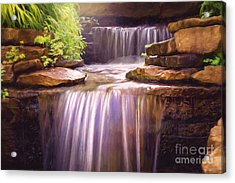 Peaceful Waters Acrylic Print