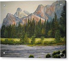 Peaceful Yosemite Acrylic Print by Shirley Braithwaite Hunt