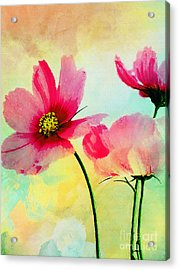 Acrylic Print featuring the digital art Peacefulness by Klara Acel
