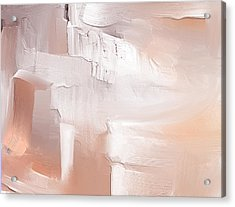 Peach Melba Acrylic Print