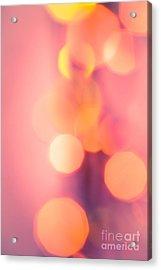 Peach Melba Acrylic Print by Jan Bickerton