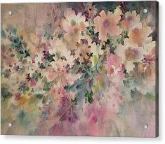Peach Parfait Acrylic Print