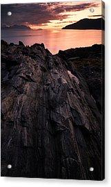 Peach Acrylic Print by Tor-Ivar Naess