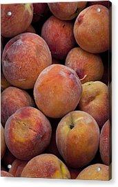 Peaches 1 Acrylic Print by Robert Ullmann