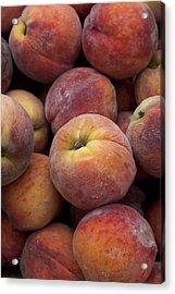Peaches 2 Acrylic Print by Robert Ullmann