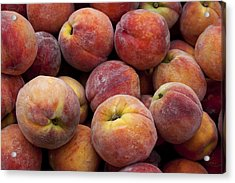 Peaches 3 Acrylic Print by Robert Ullmann