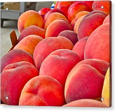Peaches For Sale Acrylic Print