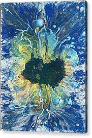 Peacock Nebula Acrylic Print