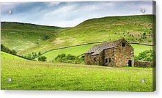Peak Farm Acrylic Print