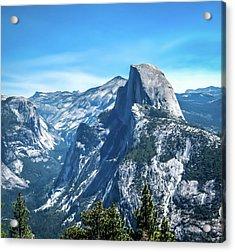 Peak Of Half Dome- Acrylic Print