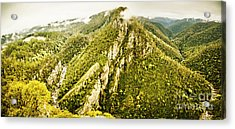 Peaks And Troughs Acrylic Print
