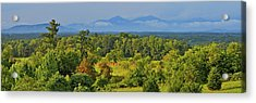 Peaks Of Otter After The Rain Acrylic Print