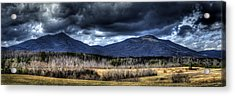 Peaks Of Otter Storm Clouds Acrylic Print
