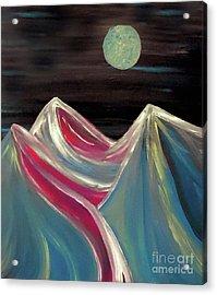 Peaks Of Solitude Acrylic Print