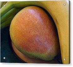 Pear And Banana Acrylic Print