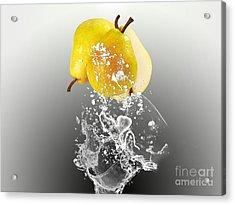 Pear Splash Collection Acrylic Print