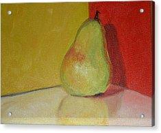 Pear Study Acrylic Print by Martha Layton Smith
