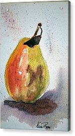 Pear Study Acrylic Print by Neva Rossi