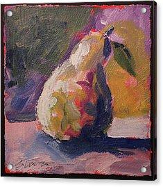 Pear Study Acrylic Print