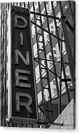 Pearl Diner Acrylic Print