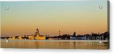 Pearl Harbor Dawn Acrylic Print