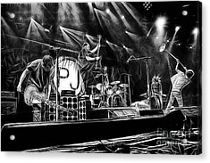 Pearl Jam Collection Acrylic Print by Marvin Blaine
