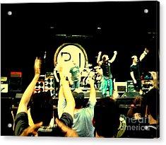 Pearl Jam Seattle Acrylic Print by Linda De La Rosa