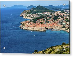 Pearl Of The Adriatic, Dubrovnik, Known As Kings Landing In Game Of Thrones, Dubrovnik, Croatia Acrylic Print