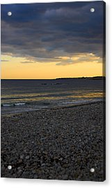 Acrylic Print featuring the photograph Pebble Beach Sunset by AnnaJanessa PhotoArt