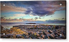 Acrylic Print featuring the photograph Pebbles And Sky  #h4 by Leif Sohlman