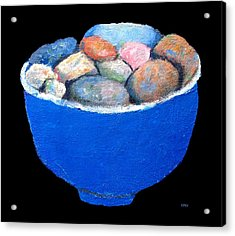 Pebbles Memories Acrylic Print