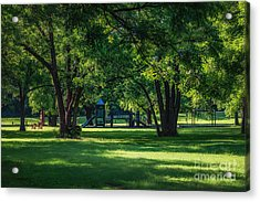 Pecan Grove In Summer Acrylic Print by Tamyra Ayles