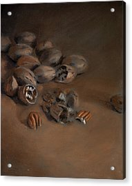 Pecan Study Acrylic Print by Christopher Reid