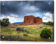 Pecos National Historical Park Acrylic Print by James Barber