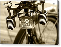 Pedaling New Orleans Acrylic Print by Wayne Archer