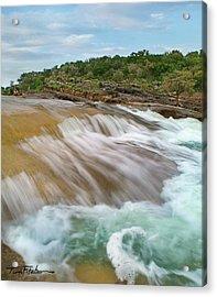 Pedernales Falls Acrylic Print