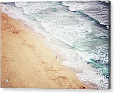 Acrylic Print featuring the photograph Pedn Vounder by Lyn Randle