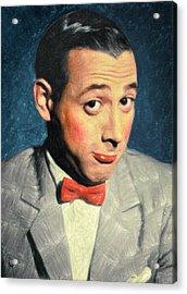 Pee-wee Herman Acrylic Print