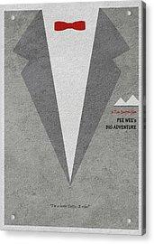 Acrylic Print featuring the digital art Pee-wee's Big Adventure by Ayse Deniz