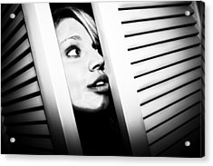 Acrylic Print featuring the photograph Peek-a-boo by Ryan Smith
