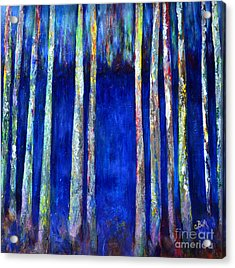 Peeking Through The Trees Acrylic Print by Claire Bull
