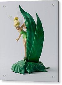 Peeking Tinker Bell Acrylic Print