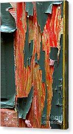 Peeled Acrylic Print by Michael Eingle