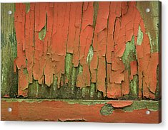 Acrylic Print featuring the photograph Peeling 4 by Mike Eingle