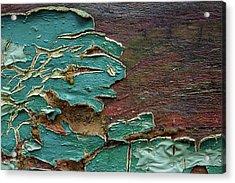 Peeling Acrylic Print by Mike Eingle
