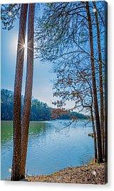 Peeping Sun Acrylic Print