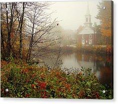 Foggy Glimpse Acrylic Print