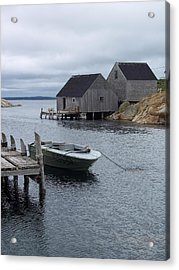 Acrylic Print featuring the photograph Peggys Cove Canada by Richard Bryce and Family