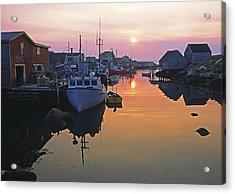Peggy's Cove, Nova Scotia, Canada Acrylic Print